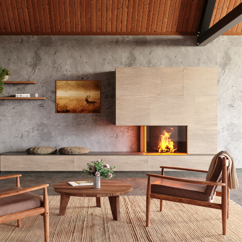 IK15 | Coconut, raffia structure