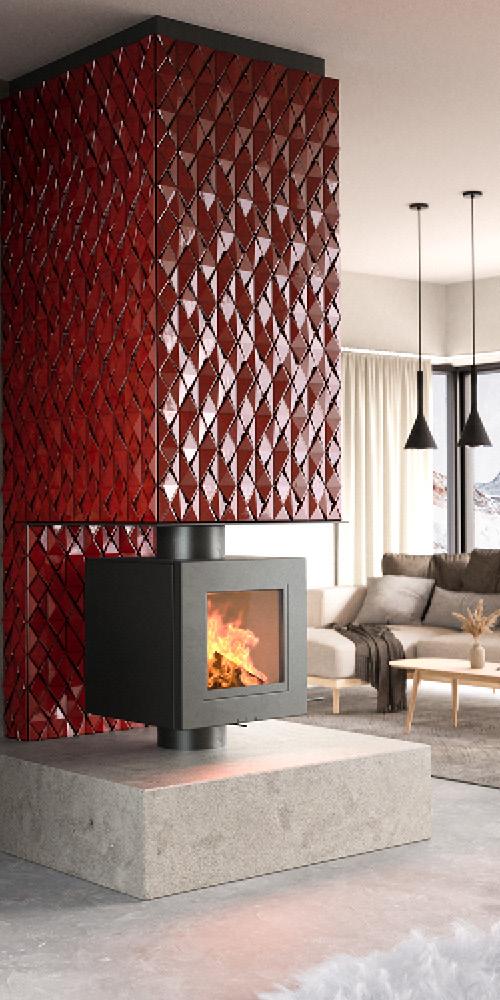 IK06 | Red, glossy