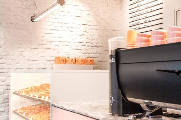 Brammibal´s Donut Theke mit Kaufmann Soap Keramik in Rosa
